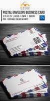 Postal Envelope Business Card