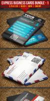 Express Business Cards Bundle#1