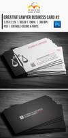 Creative Lawyer Business Card #2 by EgYpToS
