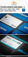 Express Business Cards Bundle - 4
