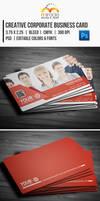 Creative Corporate Business Card by EgYpToS
