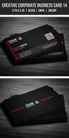 Creative Corporate Business Card 14 by EgYpToS