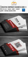 Creative Corporate Business Card 11