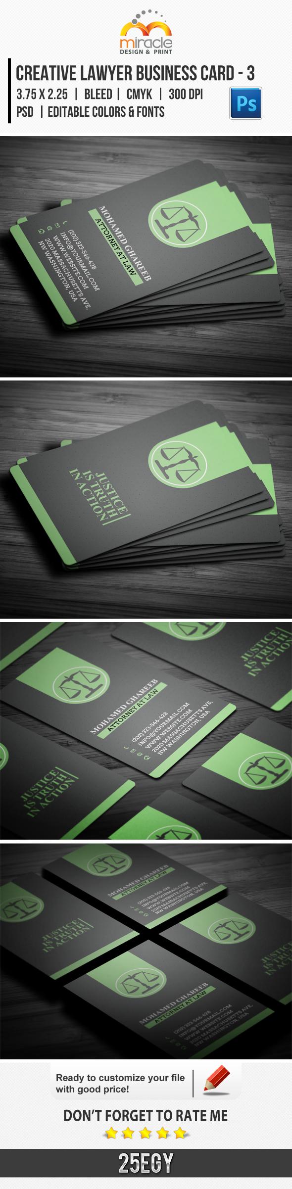 Creative Lawyer Business Card #3 by EgYpToS on DeviantArt