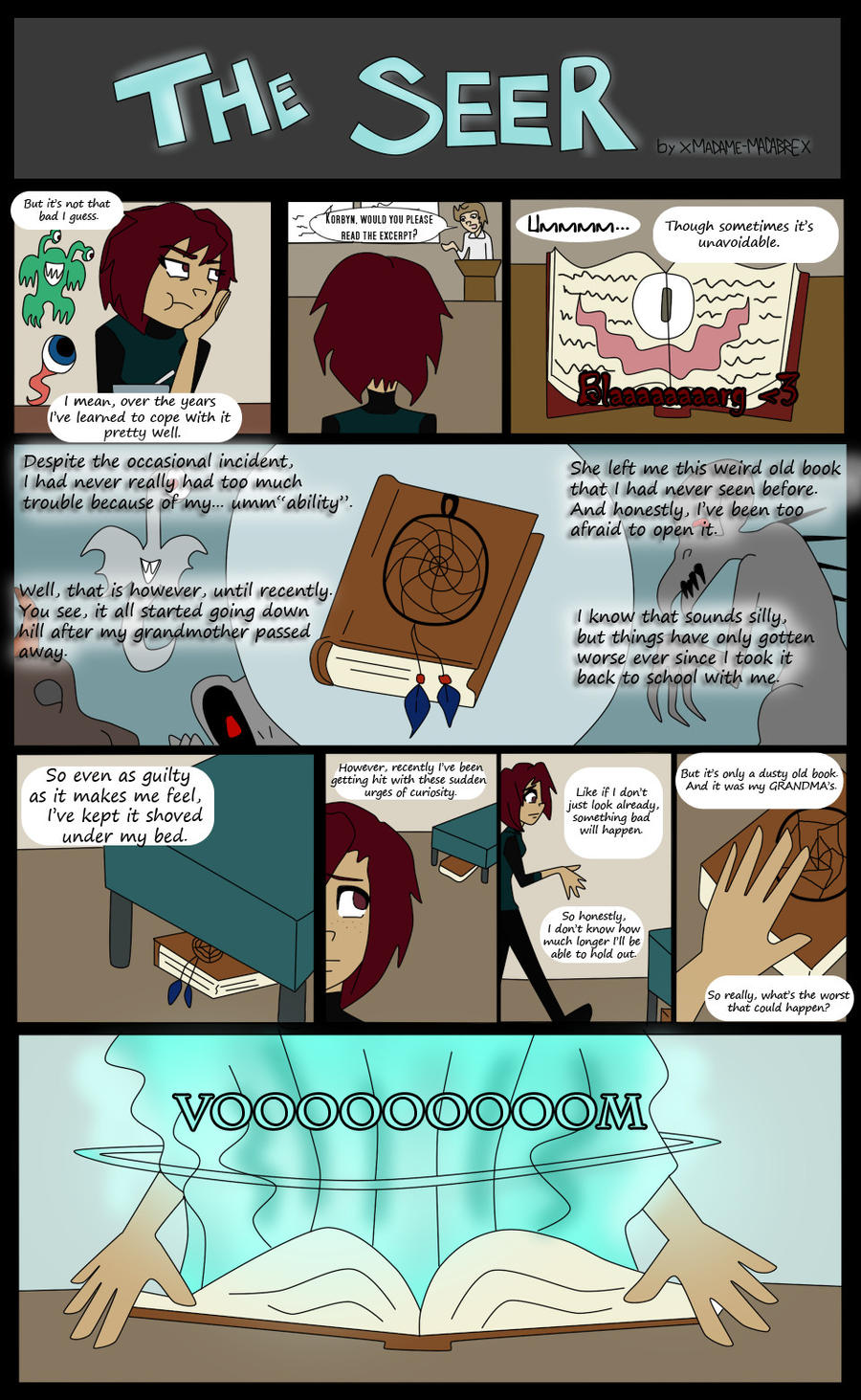 The Seer Page 2 By Xmadame Macabrex On Deviantart