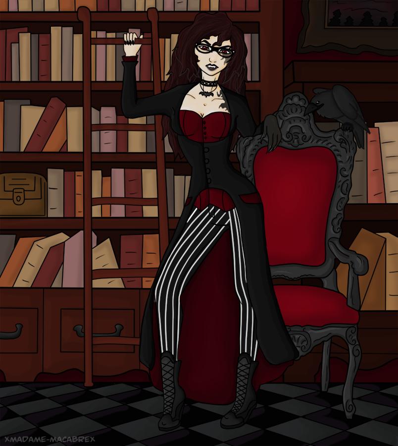 Madame Macabre by xMadame-Macabrex