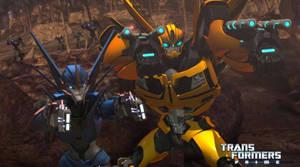 TFP Bumblebee and Arcee