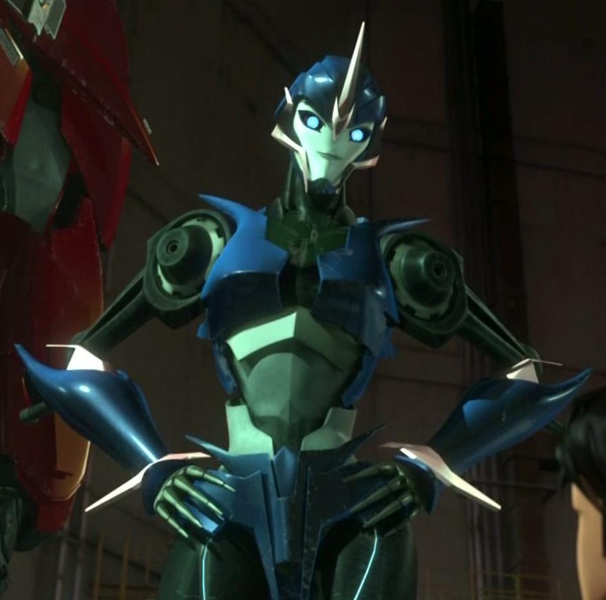Transformers Prime Arcee Sexy Tfp arcee by arielpax