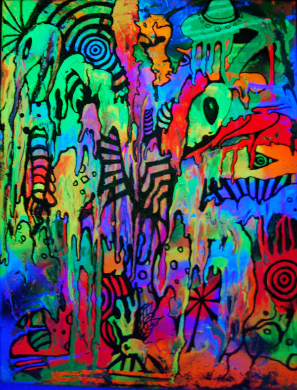 art aliens psychedelic - photo #7