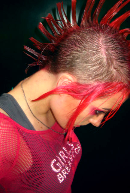 Hello Mohawk by JackieHeartsyou Get Your Punk Out: Bright and Colourful Mohawk Photography