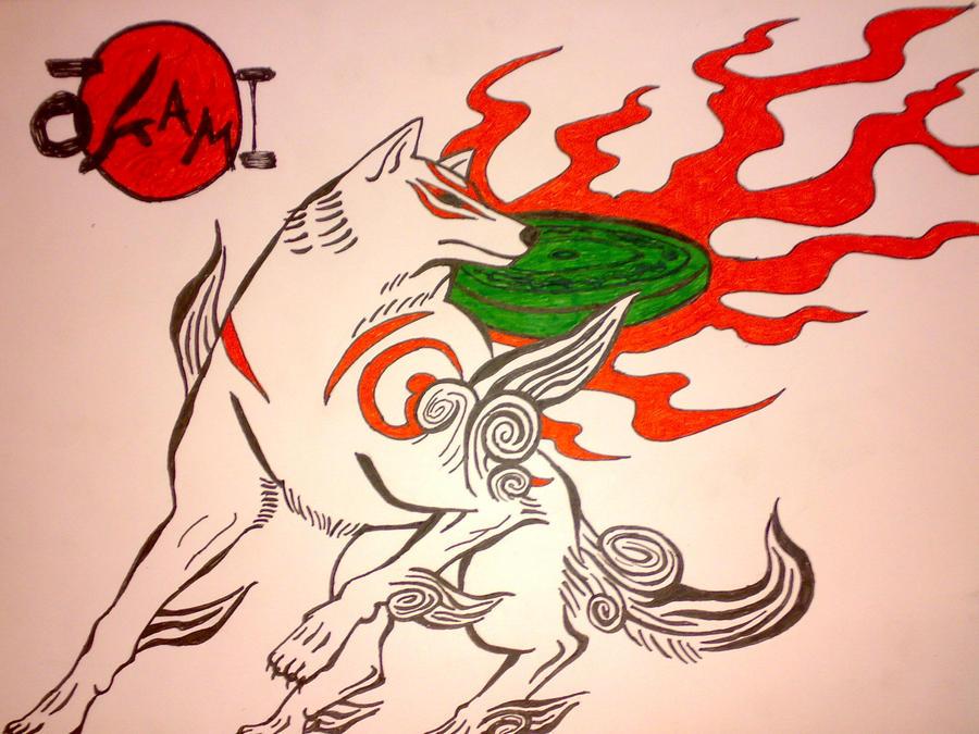 okami Amaterasu by Shineshizu