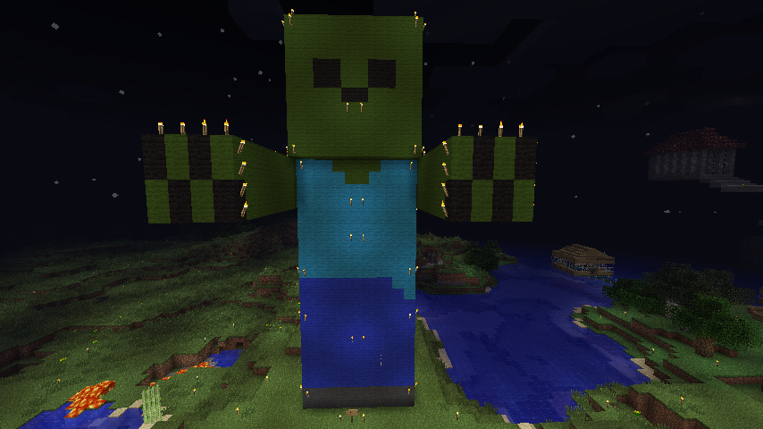 Minecraft zombie by everyonesdoom on deviantart - Zombie style minecraft ...