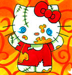 Evil Zombie Hello Kitty