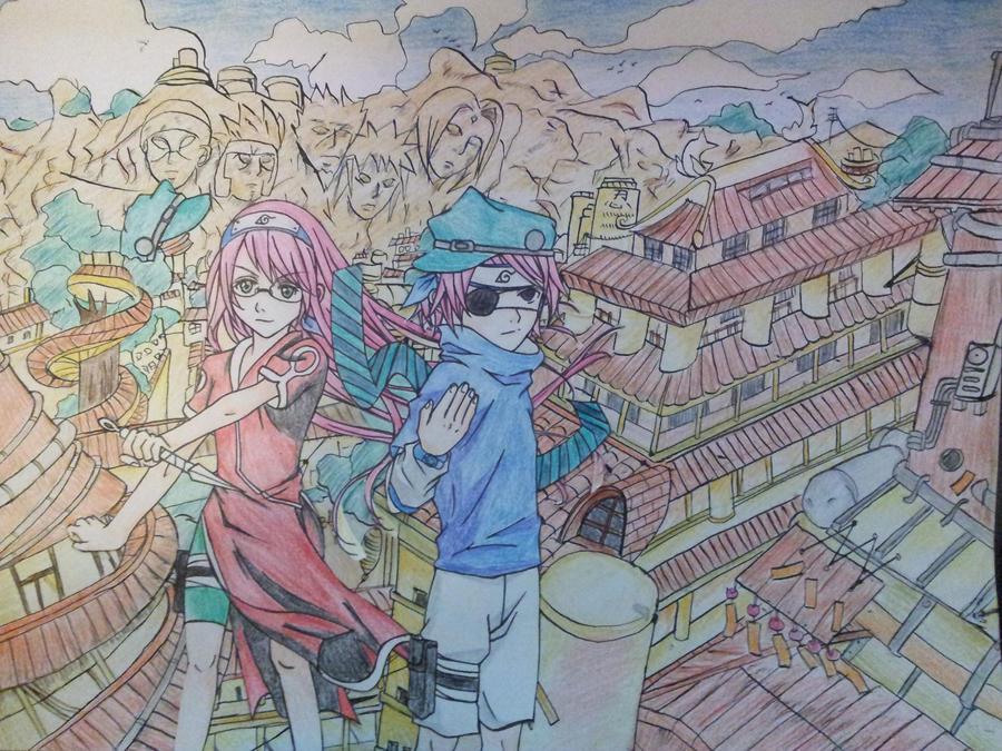 Crossover Hell!!: SMASH! 2012 w/ Sasuke and Sakura by SHINingkyrstal12