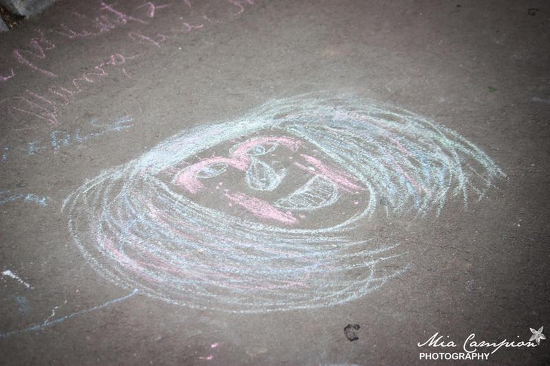 Chalk drawing 125-365 by shantaycinnamon