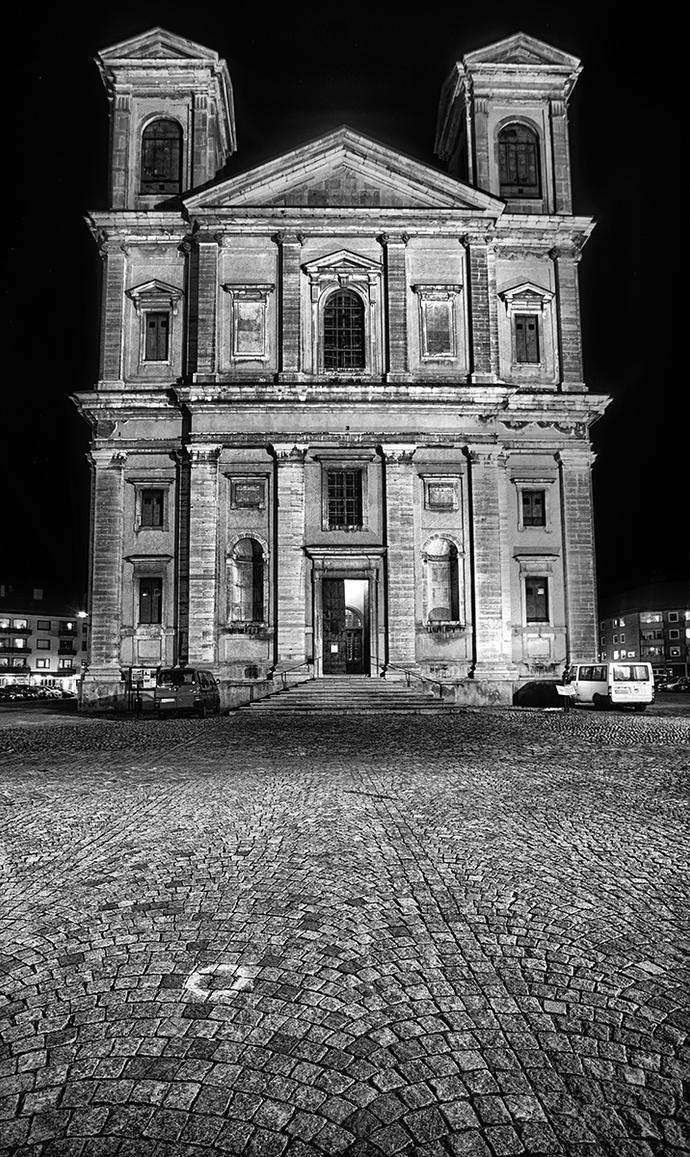 A Swedish Church by qwstarplayer