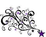 purple star tat