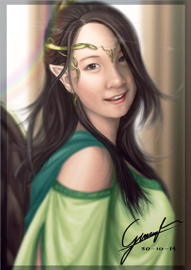Elven Arum by G4r4