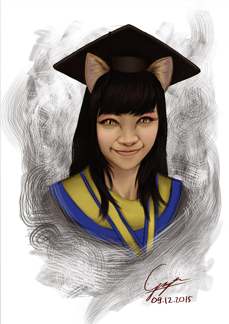 Wisuda Meong by G4r4