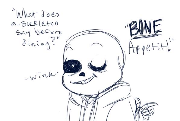dumb skeleton jokes by KatPixl