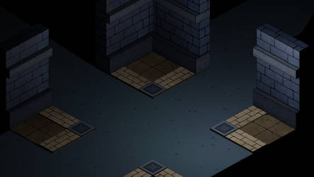 Comic-ish dungeon style test