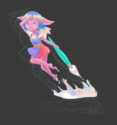 Commission - Silka Jump
