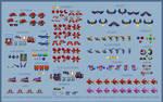 Sonic Colours and Generations Bandiks (16-bit)