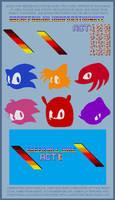 Custom Sonic Level Title Card