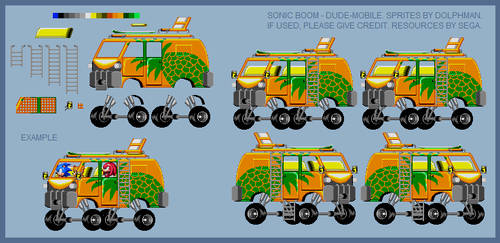 Sonic Boom - The Dude-Mobile
