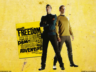 Freedom + Adventure by scifiroots