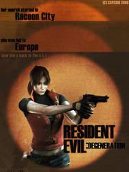 RE Degeneration Promo Poster