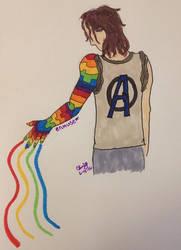 Bucky's Rainbow Arm