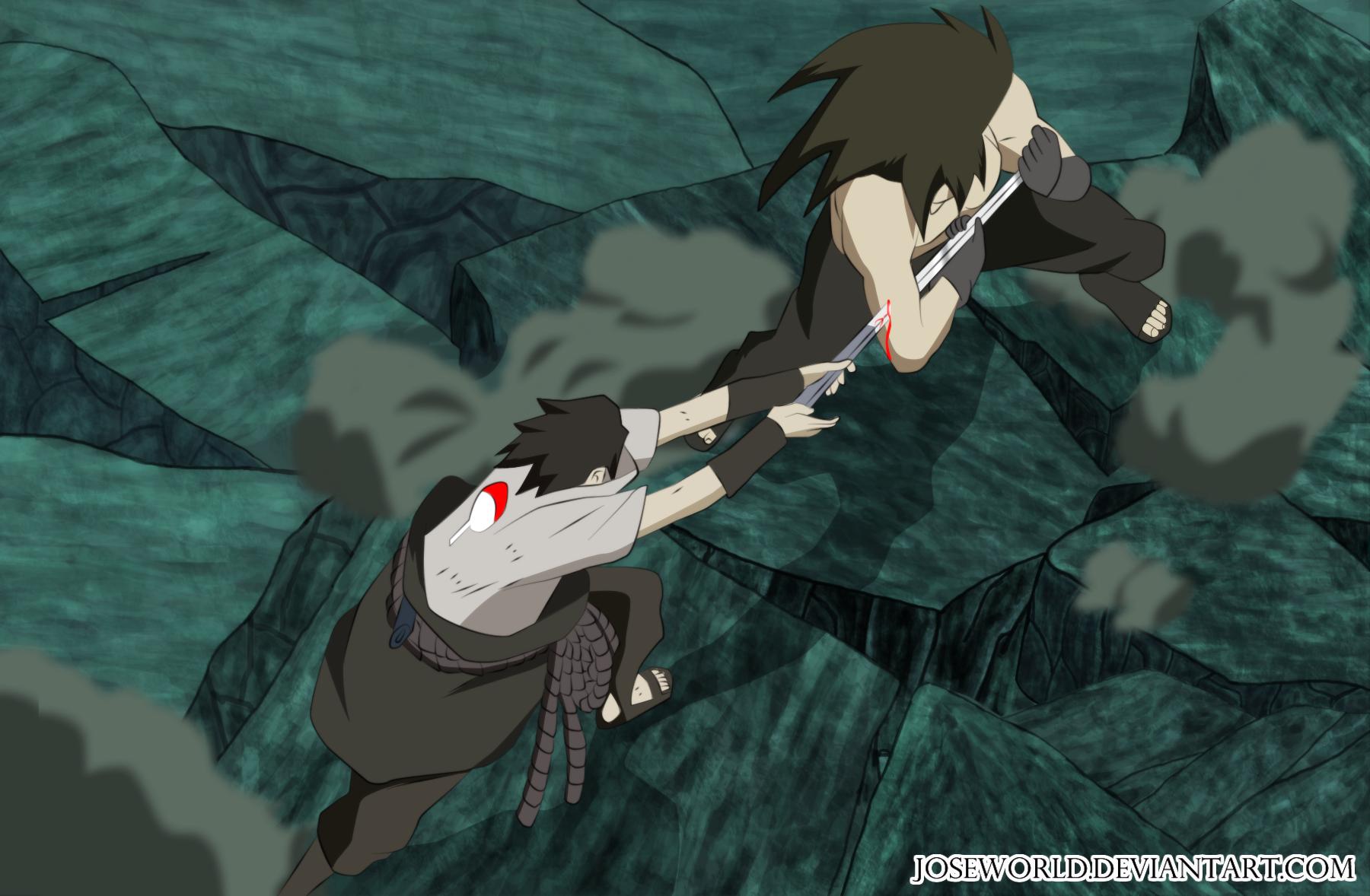 uchiha madara vs sasuke - photo #40