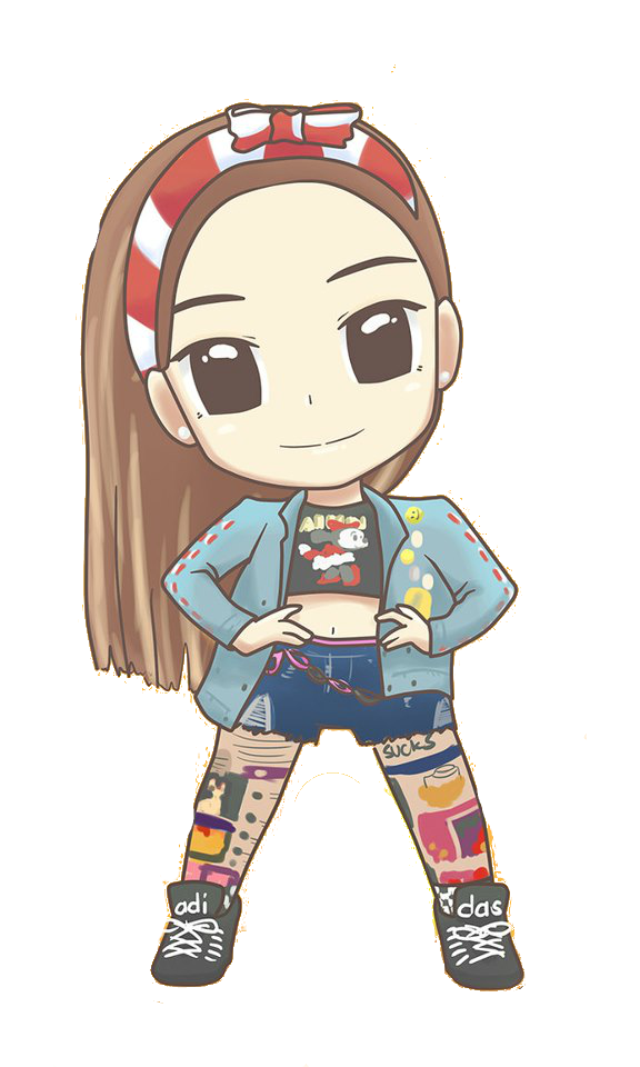 SNSD Yoona I Got A Boy Chibi ~PNG~ by JaslynKpopPngs