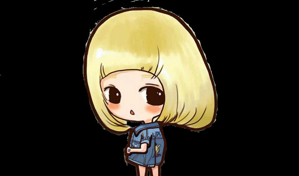 SNSD Taeyeon I Got A Boy Chibi ~PNG~~ by JaslynKpopPngs