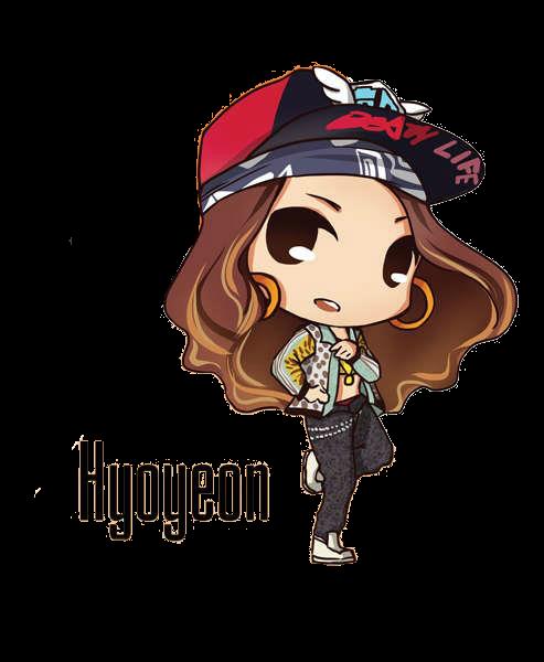 SNSD Hyoyeon I Got A Boy Chibi ~PNG~ by JaslynKpopPngs