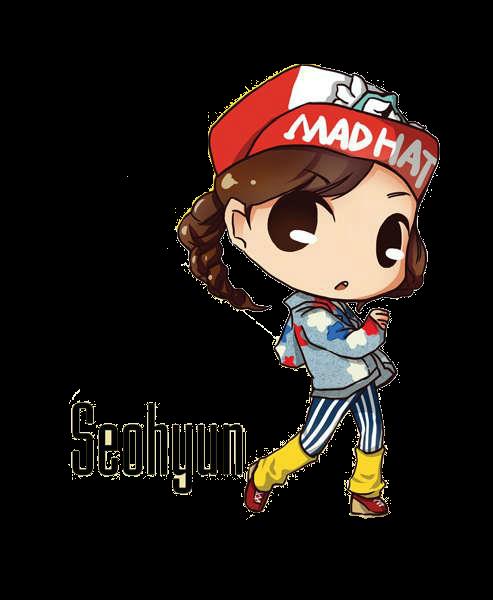 SNSD Seohyun I Got A Boy Chibi ~PNG~ by JaslynKpopPngs