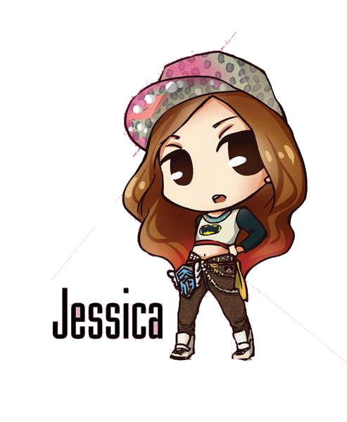 SNSD Jessica I Got A Boy Chibi ~PNG~ By JaslynKpopPngs On