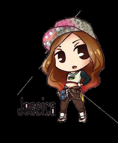 SNSD Jessica I Got A Boy Chibi ~PNG~ by JaslynKpopPngs
