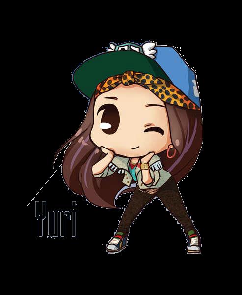 SNSD Yuri I Got A Boy Chibi ~PNG~ by JaslynKpopPngs