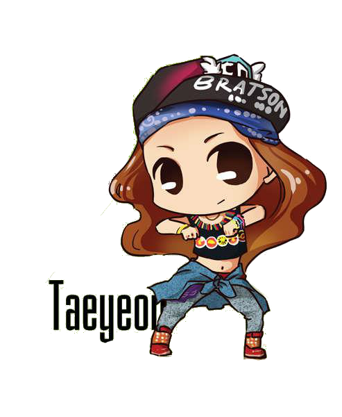 SNSD Taeyeon I Got A Boy Chibi ~PNG~~ By JaslynKpopPngs On
