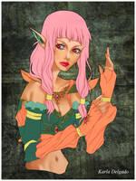 Dark Azura by viridianne