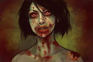 Zombie Doodle by belldandy105