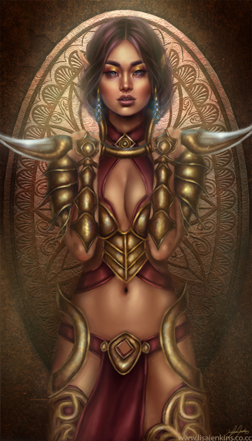 Elven Warrior by belldandy105
