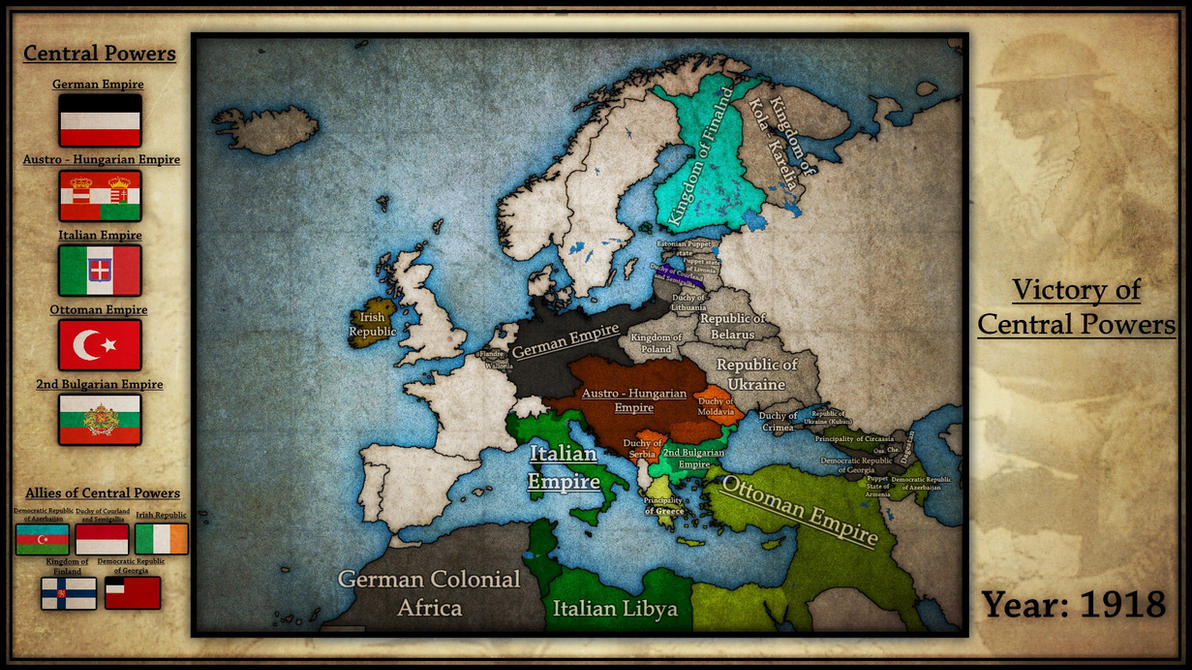 Victory of Central Powers | World War I by Breakingerr