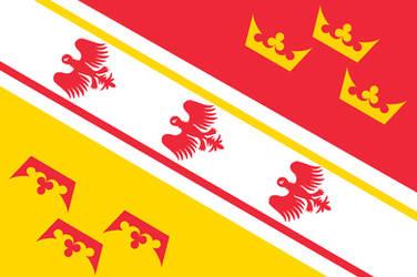 Flag of Alsace-Lorraine by Breakingerr