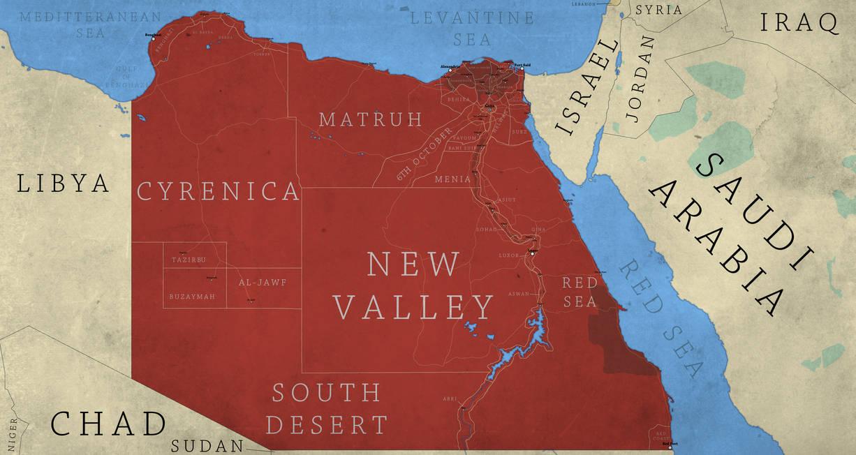 Greater Egypt by Breakingerr