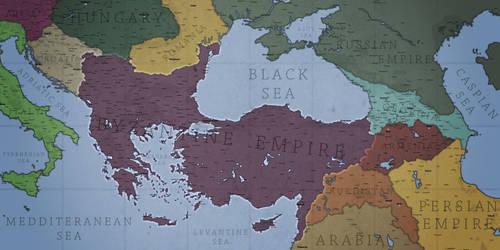 Phoenix of the East - Byzantine Empire by Breakingerr