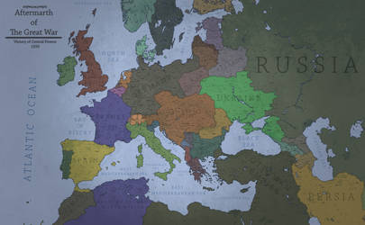 World War I - Victory of Central Powers by Breakingerr