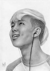 Rap Monster/Kim Namjoon of BTS by IIZitipandII